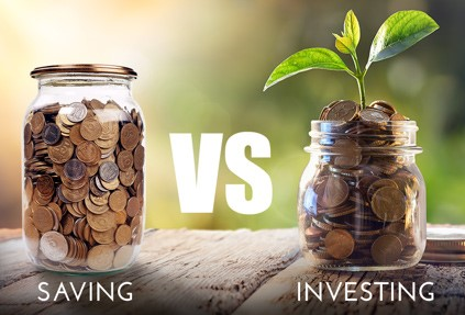 Investing 101:  Investing vs Saving