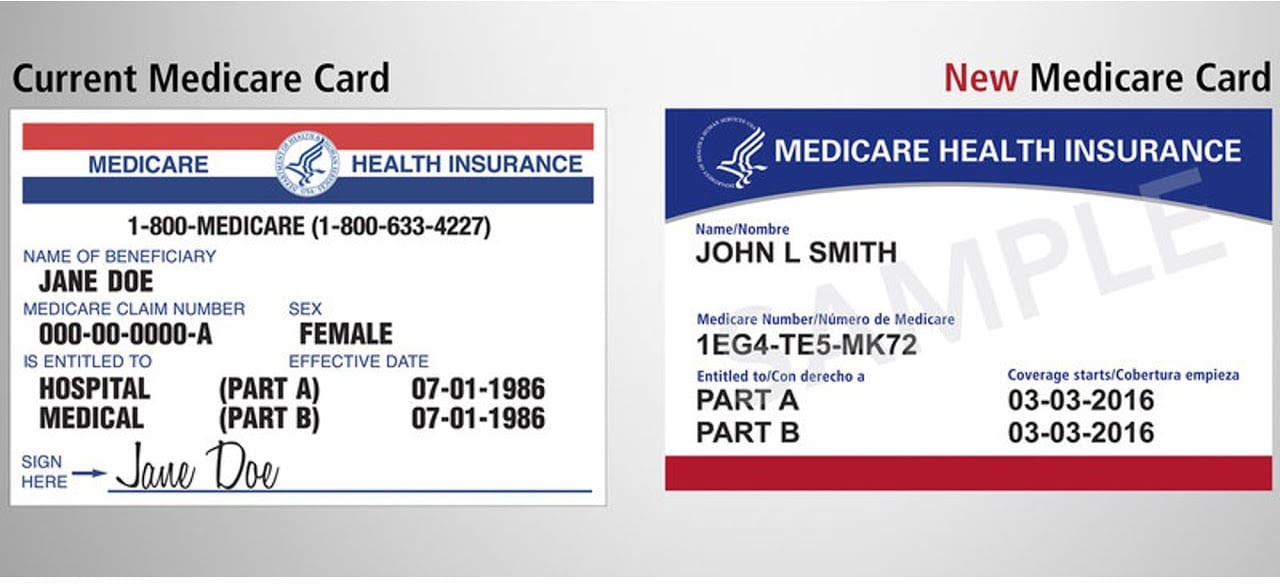 New Medicare Beneficiary Identifier