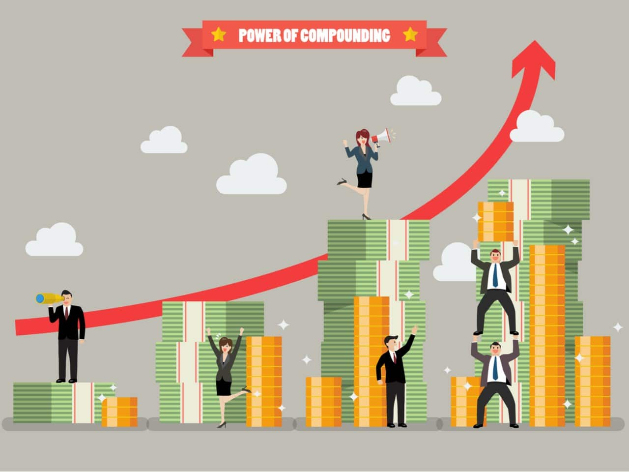 Investing 101:  Compound Interest & The Rule of 72
